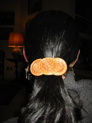 picture of a Pine Needle Barrette